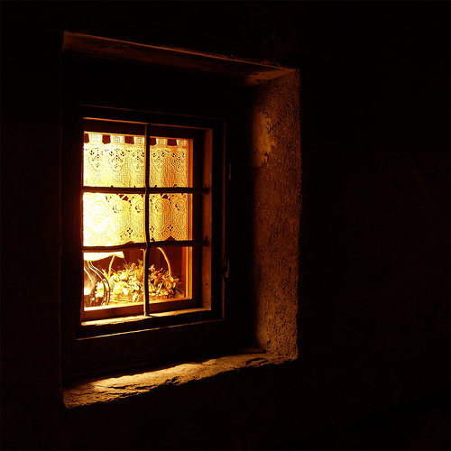 THE LIGHTED WINDOW