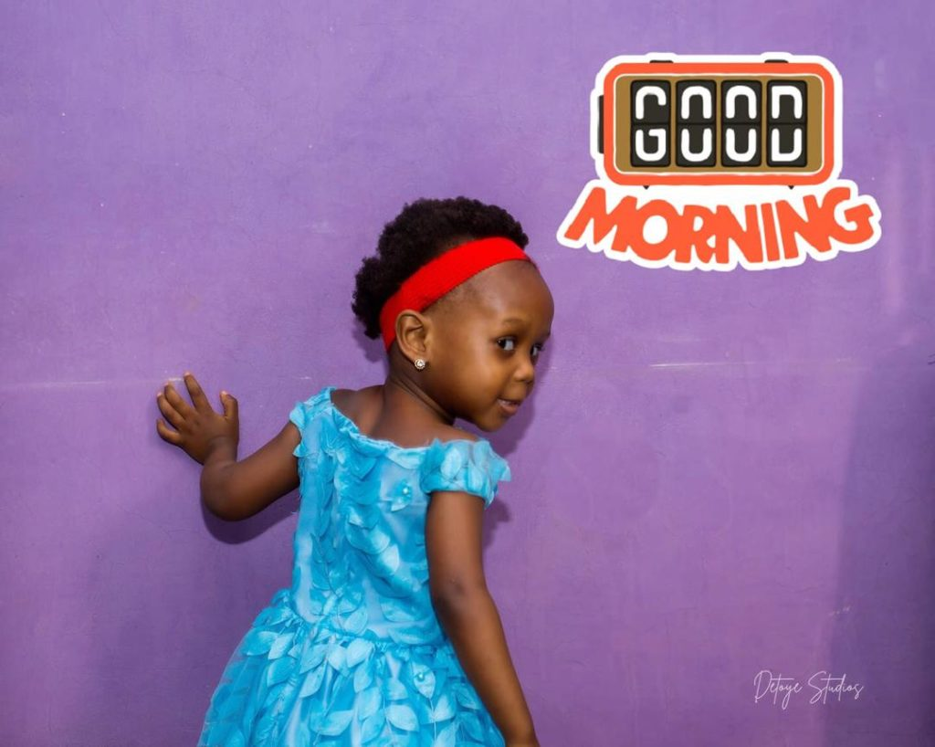 GOOD MORNING. GOOD AFTERNOON: THE MIXED GREETINGS OF DANIELLE
