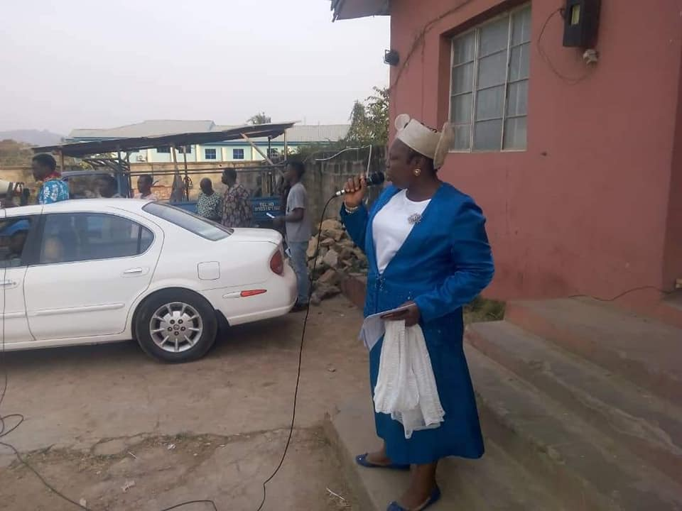 THE HEART OF AN INTERCESSOR (A Tribute to Rev. Mrs Titi Bamidele)